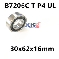 1pcs AXK 7206 7206C B7206C T P4 UL 30x62x16 Angular Contact Bearings Speed Spindle Bearings CNC
