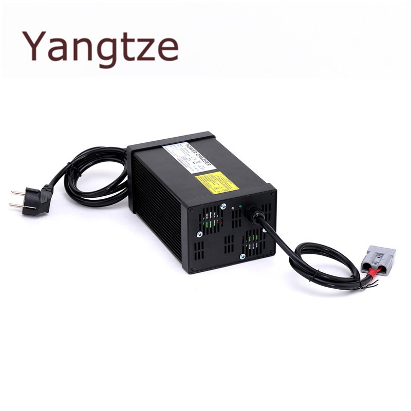 Yangtze 73V 10A 9A 8A Lifepo4 Lithium Battery Charger For 60V (64V) E-bike Pack AC-DC Power Supply for Electric Tool yangtze 67 2v 10a 9a 8a lithium battery charger for 60v e bike li ion battery pack ac dc power supply for electric tool