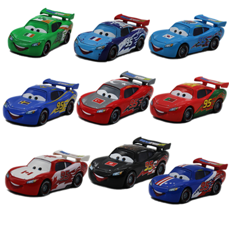 Disney Pixar Cars Different Styles National Edition
