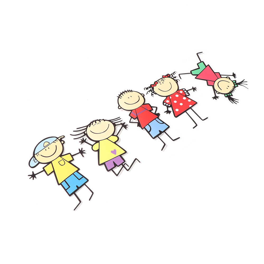 Gambar Kartun Keluarga Dengan 2 Anak Laki Laki Keren Bestkartun