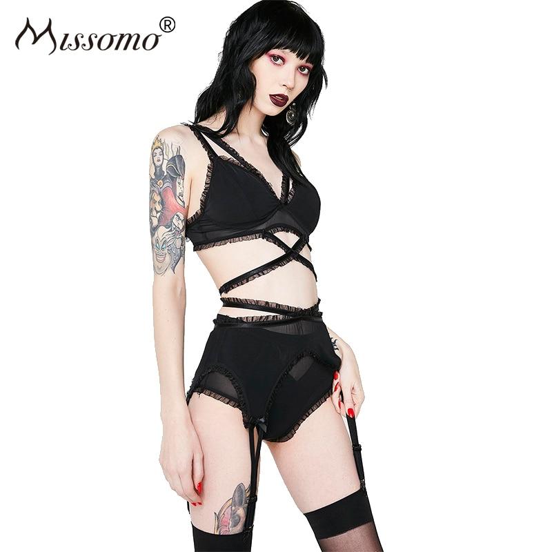 Buy Missomo Women Porno Sexy Ladies Lace Panties Femme Modis Briefs VS Micro Underwear Plus Size XL Lingerie Seamless Panty