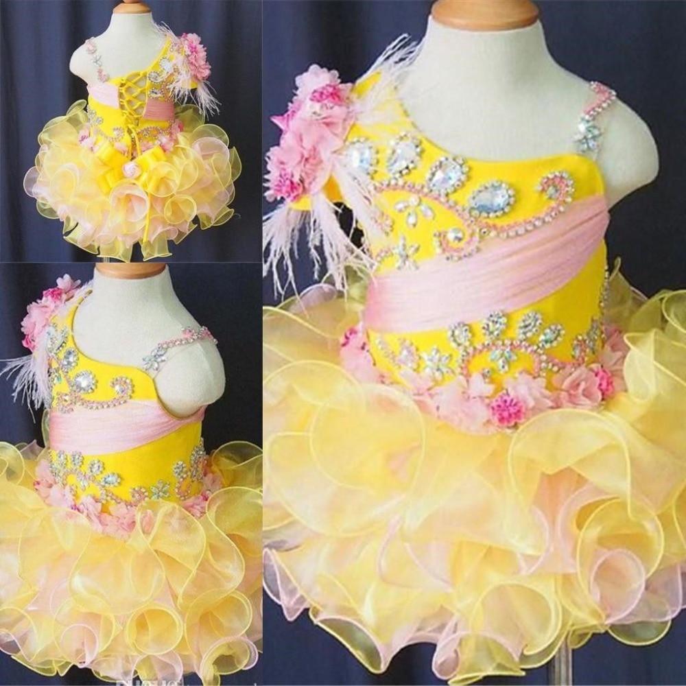 New Little Girls Flower Dress Kids Baby Cupcake Dresses for Birthday Wedding Hot basiс baby платье распашонка my little flower