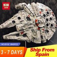 Lepin 05132 Star Destroyer Millennium Falcon LegoINGlys 75192 Bricks Model Building Blocks Educational Toys WARS