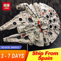 Lepin 05132 Star Destroyer Millennium Falcon LegoINGlys 75192 Bricks Model Building Blocks Educational Toys WARS