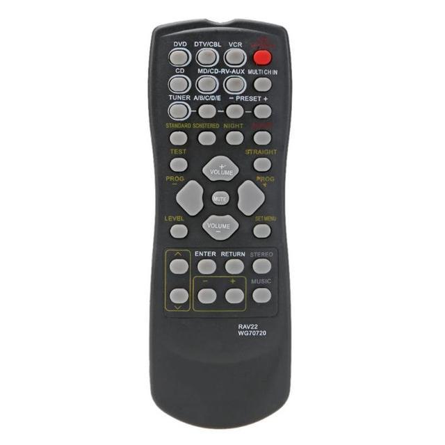 RAV22 التحكم عن بعد استبدال لياماها CD DVD RX V350 RX V357 RX V359 HTR5830 المسرح المنزلي اللاسلكي التحكم عن بعد