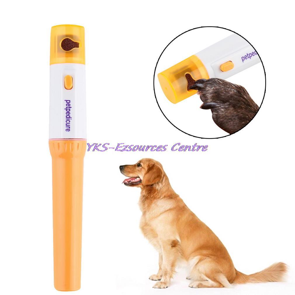 Электрический безболезненный кусачки для ногтей для домашних животных Pedi для домашних собак, кошек, лап для ногтей