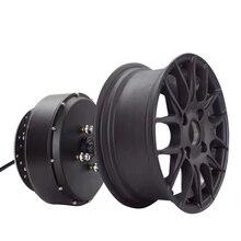 Супер мощность qs 5000 Вт V4 72V100KPH 12*5,0 дюйма Ширина один вал в колеса Ступицы двигателя съемный дизайн
