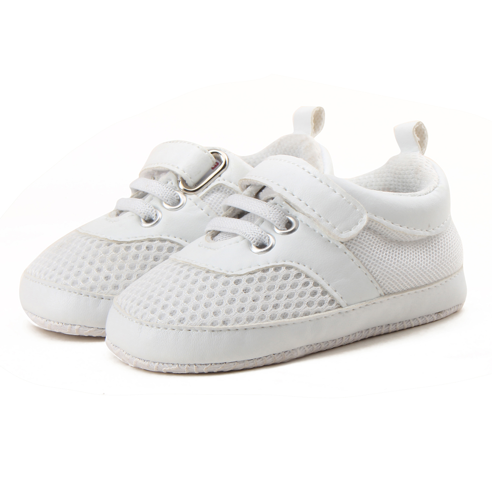 Delebao Air Mesh Soft Baby Shoes Super Cheap Price Sports Style First Walkers Free Send A Pair Of Socks