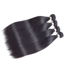 Сапфир волосы прямые волосы Малайзии Комплект S Пряди человеческих волос для наращивания 8-28 дюймов натуральный Цвет Волосы Remy ткань 1 Комплект может быть окрашенная