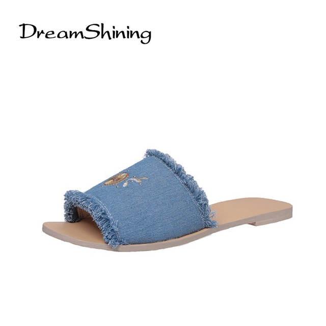 DreamShining Women Slipper For School Teenagers Girls Shoes Pineapple Cute  Slipper Canvas Printing Beach Sandals Shoes d4d30a1d1e8