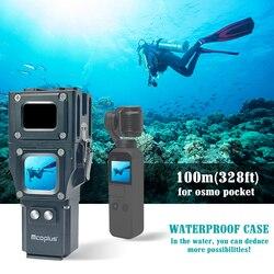 Mcoplus DJI Osmo pocket waterproof Case 100m/328ft for DJI OSMO Pocket Camera Underwater Diving Photography