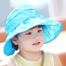 Модная одежда для детей, Детская мода для девочек и мальчиков шапочка для новорожденного ручной красивый детский для малышей Кепки для девочек и мальчиков хлопок Бейсбол шапка детская шляпа в горошек Детские летние шапочки