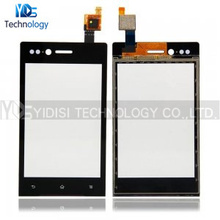 For Sony Xperia Miro ST23i ST23 Digitizer Touch Screen Panel Glass Lens Repair Parts Free Shipping