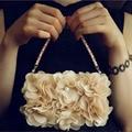 Moda bege flor shell da pele para o iphone 5s case para iphone 5 6 6 S Casos de Telefone Mais Elegante Bonito Flora Únicas Coque Capa Capa