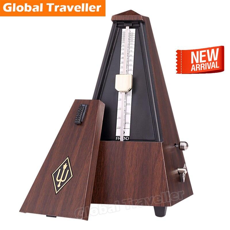 ФОТО 1 piece German-design precise Mechanical, Bell Ring Metronome universal for Guitar Bass Piano Violin Saxphone Woodwind Brass