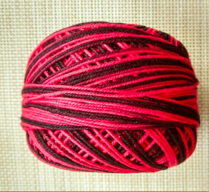 4 рулона пестрая нить для вязания крючком/пряжа и нить для вязания 50 г/рулон - Цвет: Зеленый