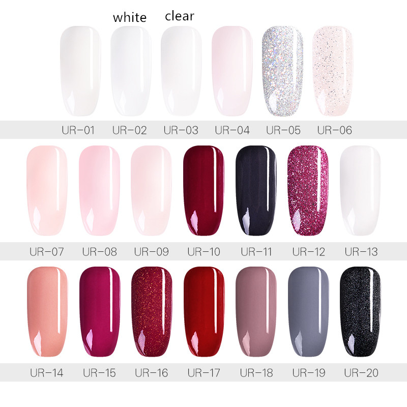 UR SUGAR 30ml Dipping Nail Powder Natural Dry Stronger Nails Nail Art Decoration Without Lamp Cure Base Top Activator Liquid in Nail Glitter from Beauty Health