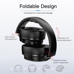 Image 4 - AWEI Budget Bluetooth V5.0 Cuffie da gioco Cuffie stereo senza fili cablate Senza fili AAC Cancellazione del rumore con supporto microfono TFcard