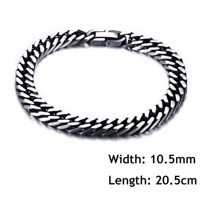 Vintage Mens Bracelet Retro...