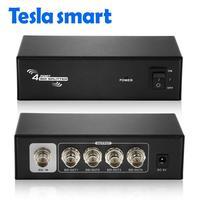 HD SDI Splitter 1x4 Powered Amplifier Splitter 4 way SDI HD lossless signal distribution to 4 output SDI Splitter 1 in 4 out SDI