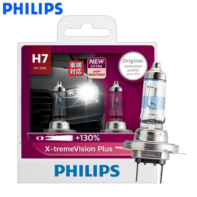 16950e112a7 Philips H7 X-treme Vision Plus 12V 55W Auto Halogen Headlight Car Lamp ECE  Approve