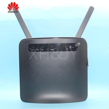 סמארטפון משמש Huawei נתב אלחוטי B593 B593s-22 עם אנטנת 4G LTE WiFi Hotspot  נתב עם ה-SIM כרטיס 4G נתב