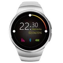 Новый Smart Watch Kw18 Smartwatch для iphone android телефон heart rate monitor Шагомер Часы Facebook WhatsApp relogio masculino