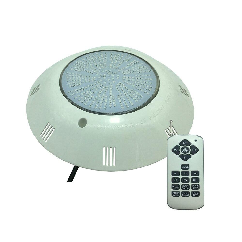 Projecteur de LED de Fil de résine de la lumière 18 W 25 W 36 W de piscine montée par Surface de LED rvb multicolore 12 V AC blanc froid chaud