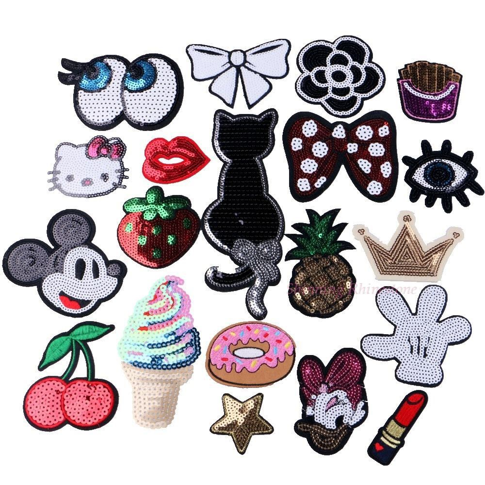 1pc Embroidered Iron On Patches...