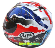Motorcycle helmet arai RX7 RR3 JAPAN male female racking helmet all season keep warm full face  4 color choose