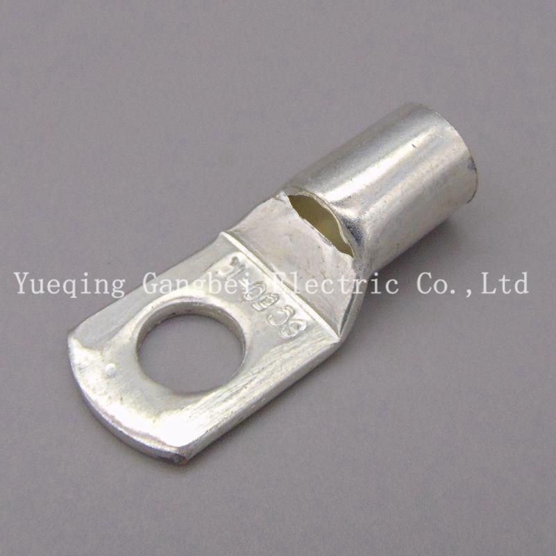 Sky High Car Audio 4ga Copper Tinned Ring Terminals w// White//Black HS 10 Pack
