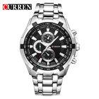 ✔  CURREN Мужские часы Top Luxury Fashion & Casual Кварцевые мужские наручные часы Классические аналого ✔