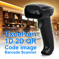Excelvan 1D 2D QR Wired Handheld USB laser Barcode Scanner Reader For Mobile Payment Computer Screen Scanner & Virtual COM Port