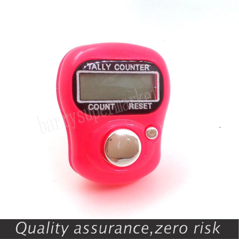 10 db mini számláló digitális kézi számláló FingerRing Tally - Mérőműszerek - Fénykép 1
