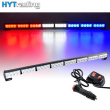 цена на Car Light 35 32 LED Traffic Emergency Warning Strobe Light Bar Truck Flashing Lamp Red Amber Green Blue White