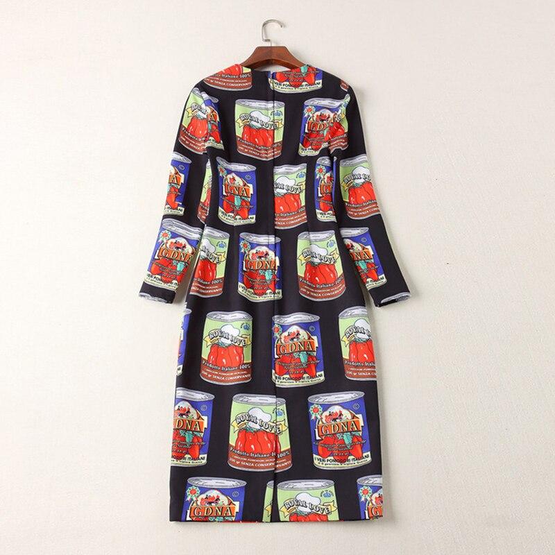 Manches Longueur neck mollet Luxe Robe Assez Qualité De O Ressort Complet Mi Femmes 2019 Femelle Copie Vintage Haute Mince CerodxB