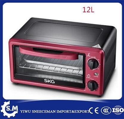 12L électrique ménage mini four pain cuisson four fours pizza four machine