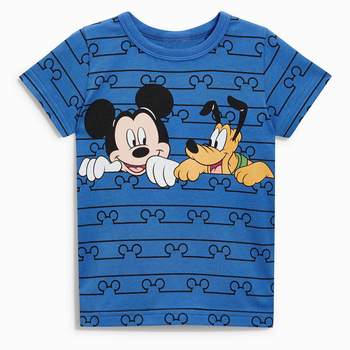 2018 Fashion Summer baby boys clothes short sleeve O-neck t shirt Cotton Cartoon Mickey printing brand tee tops