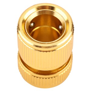 Image 4 - Drip Irrigation For Alloy Water Hose Connector Fitting Switch Nozzle Garden Pipe Quick Fit Adapter Tap Hose Connector