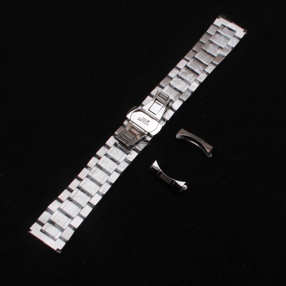 Kordonlu saat erkek bilekliği kayışları bilezikler 14mm 15mm 16mm - Saat Aksesuarları - Fotoğraf 5