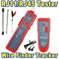 Горячая Сети Ethernet Кабель Tracker UTP STP RJ45 RJ11 Cat5 Cat6 LAN Тестер Телефонный Провод Детектор Инструмент Комплект Тон Tracer