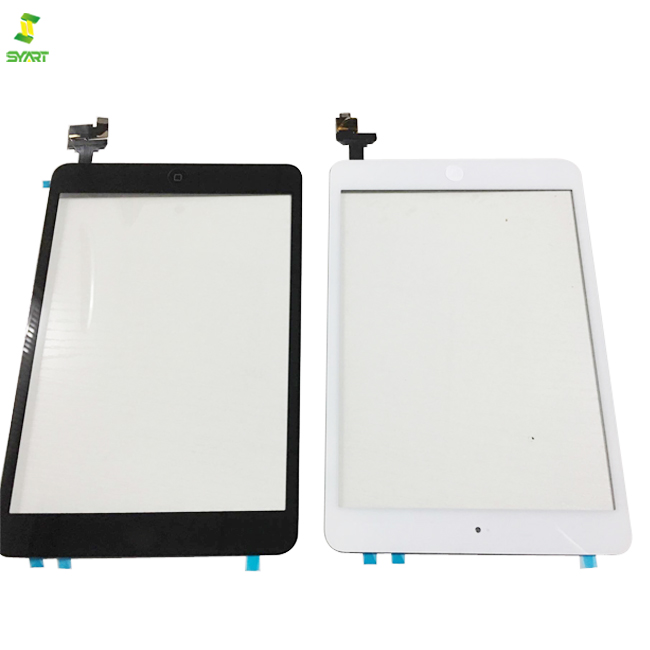 For iPad Mini 1 /& 2 Glass Digitizer Touch Screen IC Chip Home Button BLACK//WHITE
