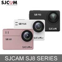В наличии! SJCAM SJ8 Air/SJ8 Плюс/SJ8 Pro 1290 P Экшн камера 4 K WiFi удаленного Управление водонепроницаемая Спортивная Цифровая видеокамера мини Ambarella H2 Ка