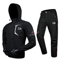 2017 NEW DAIWA Fishing clothes pants coat DAWA suit Hooded Sunscreen jacket parka waterproof Breathable man DAIWAS Free shipping
