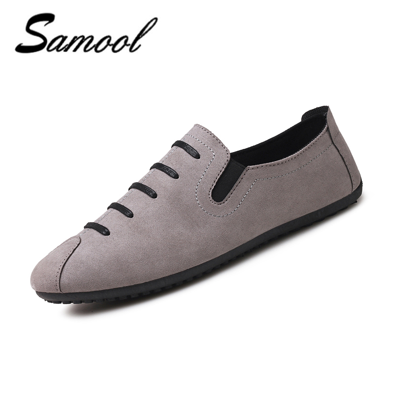 2018 shoes men Casual Luxury Brand Spring comfort Material Slip On - Men's Shoes - Photo 1