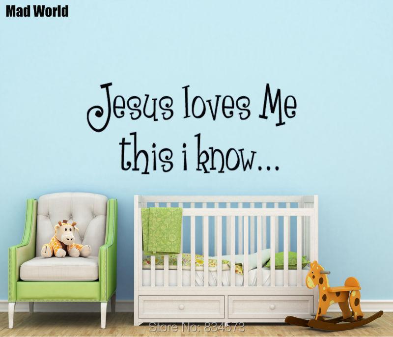 Online Get Cheap Love Bible Verses Aliexpresscom Alibaba Group - Bible verse nursery wall decals