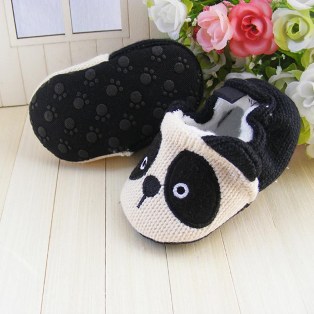 Jungen shoes für mädchen cartoon panda häkeln krippe shoes ...
