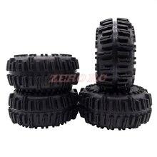 """4 Uds. De neumáticos ROCK CRAWLER de 2,2 """", llanta suave de 128mm con espumas para AXIAL WRAITH SCX10 Jeep Wrangler TRX 4 2,2"""
