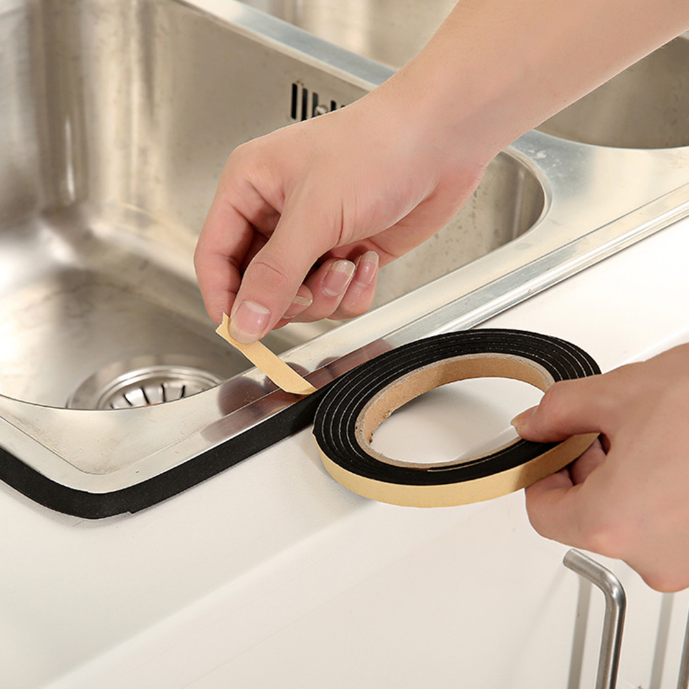 2m Seals Adhesive Gasket Kitchen Waterproof Gas Cooker Sealing Striping Tool Multifunction Home Seal Dustproof Tools