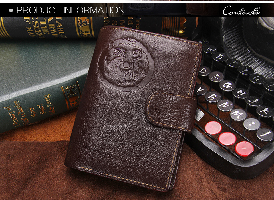 Passaporte Embreagem Homens CONTACT'S 7